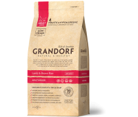 GRANDORF CAT INDOOR Lamb&Rice с ягненком и бурым рисом для кошек живущих дома 2кг