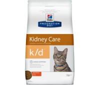 HILL'S PD k/d Kidney Care с курицей при заболеваниях почек у кошек