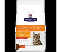 HILL'S PD c/d Urinary Stress Urinary Care с курицей при стрессе и МКБ у кошек