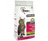 1stChoice 2,4кг с курицей,бататом для стерилизованных кошек