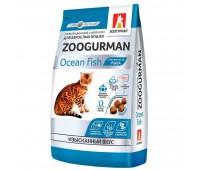 Zoogurman Gourmet с океанической рыбой для кошек 350г
