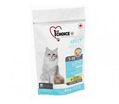 Купить 1stChoice для взрослых кошек с лососем