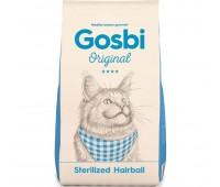 GOSBI ORIGINAL STERILIZED HAIRBALL для стерилизованных с выведением шерсти у кошек