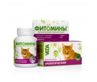 Фитомины От мочекаменной болезни 100таб для кошек