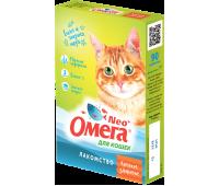 ОМЕГА NEO+ Витамины Крепкое Здоровье для кошек 90шт