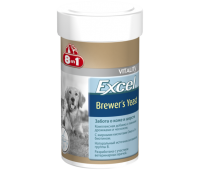 8in1 Excel BREWERS YEAST 140таб euro для кошек и собак