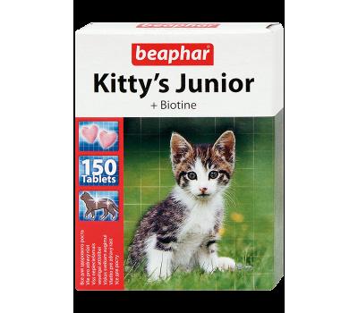 Купить Beaphar Kitty's Junior 150таб витамины для котят