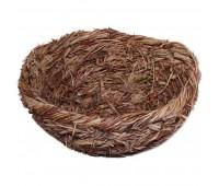 """Гнездо Triol для птиц плоское 12*6см купить, цена в интернет-магазине """"Zoo Pegas"""" Симферополь, Крым"""
