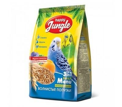 Купить Happy Jungle 500г корм для волнистых попугаев