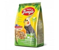 Happy Jungle 500г корм для средних попугаев в период линьки