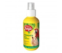 Спрей Happy Jungle для птиц и грызунов Ликвидатор Запаха и Пятен 120мл