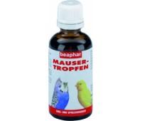 Beaphar Маусер Троппен витамины против линьки для птиц 50мл