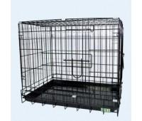 Вольер 61*44*50см разборной для кошек и собак ЭМАЛЬ