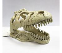 Декор череп Т-Рекса для террариума