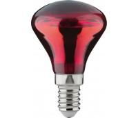 Инфракрасная лампа красный свет 50W