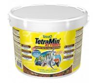 Tetra корм MIN XL (крупные хлопья) 10 л для всех видов рыб