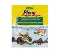 Tetra PLECO Veggie Wafers для донных растительноядных рыб 15г