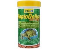 Tetra REPTO Delica Shrimps (креветки) 250мл для водных черепах
