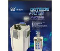 HL Фильтр внешний, канистр.с UV стерилиз. 45W лампа 9W (2000л/ч,до 700л) 3 корзины