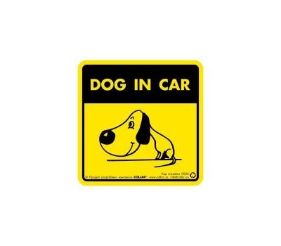 """Купить Collar Наклейка 3725 """"Dog in car"""""""