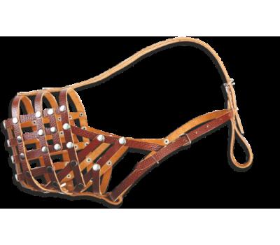 Купить (5120) Before Намордник (сетка) кавказец  Коричневый