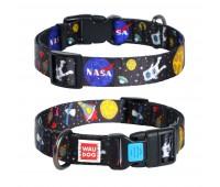 Ошейник Collar WAUDOG NASA 25мм 31-49см M нейлон