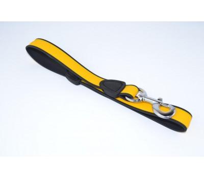 """Купить Before """"Keeper"""" (0325) Поводок биотановый двухцветный 25мм 60см  Желтый"""