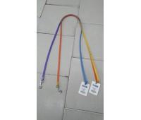 (8820) Before Поводок Elit двухцветный 10мм 122см  голубо-фиолетовый