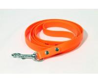 """(0430) Before """"Keeper"""" Поводок биотановый водонепроницаемый 25мм 31см  Оранжевый"""