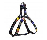 Шлея Collar WAUDOG NASA 15мм 40-55см нейлон