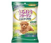 Шампуневые Полотенца без воды для собак с коллагеном и плацентой.30*20см 25шт
