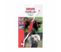 Beaphar Зубная щетка для собак двухсторонняя