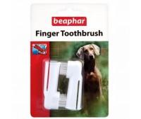 Зубная щетка Beaphar Двойная на палец