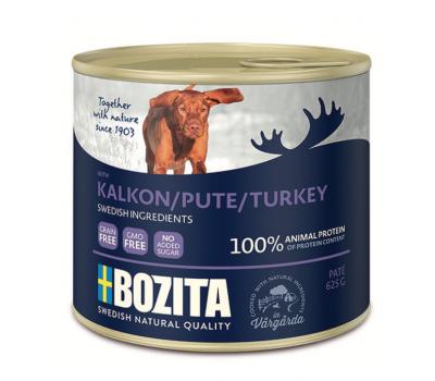 Купить Bozita консервы 625г паштет из индейки для собак