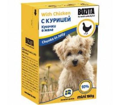 Купить Bozita корм для щенков Бозита с курицей