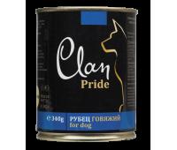 Clan Dog Pride консерва для собак 340г Рубец Говяжий