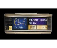 Clan De File консерва для собак100г Кролик