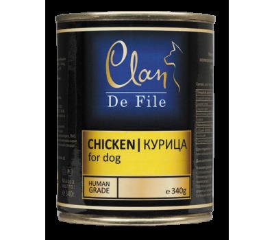 Купить Clan De File консерва для собак 340г Курица