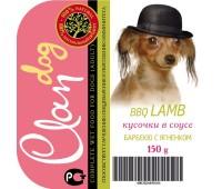 Clan Dog для собак 150г соус Барбекю с Ягненком