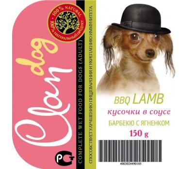 Купить Clan Dog для собак 150г соус Барбекю с Ягненком