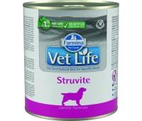Farmina VetLife Struvite Консервы паштет 300г при струвитах у собак