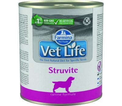 Купить Farmina VetLife Struvite Консервы паштет 300г при струвитах у собак