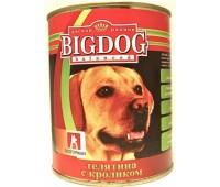 Big Dog для собак Телятина с кроликом}