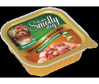 Smolly dog Телятина с цыпленком для щенков