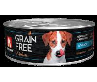 Зоогурман консервы GRAIN FREE 100г с ягненком для собак