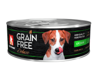 Зоогурман консервы GRAIN FREE 100г с кроликом для собак