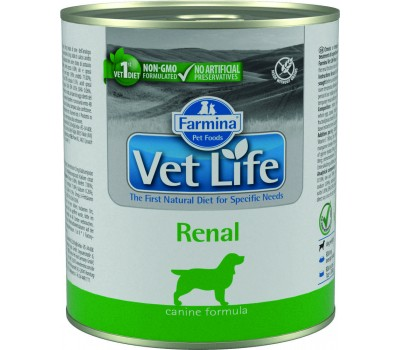 Купить Farmina VetLife Renal Консервы паштет 300г при болезнях почек у собак