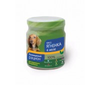 TiTBiT консервы ст/б 100г с мясом ягненка в желе для собак