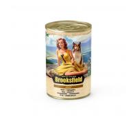 Консервированный корм Brooksfield Adult Beef - для собак всех пород с говядиной и рисом