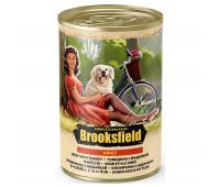 Консервированный корм Brooksfield Adult Beef & Turkey - для собак всех пород с говядиной и индейкой